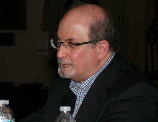 Salman Rushdie at 2014 Brooklyn Book Festival. Image-Luigi Novi/Creative Commons Attribution 3.0