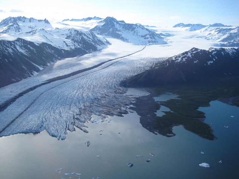 The Bear Glacier in the Kenai Fjords National Park. Image-National Parks Service