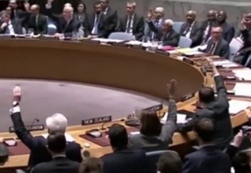 The U.N. Security Council.. Image-VOA