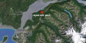 The area of the fatal crash in which four people died Wednesday morning. Image-Google Maps