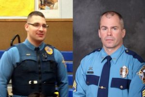 Trooper Gabrial Rich and Sergeant Patrick Johnson were gunned down by Nathanial Kangas as they attempted to arrest his father in May 2014.