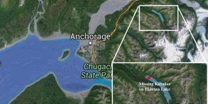 Location of missing kayaker. Image-Google Maps