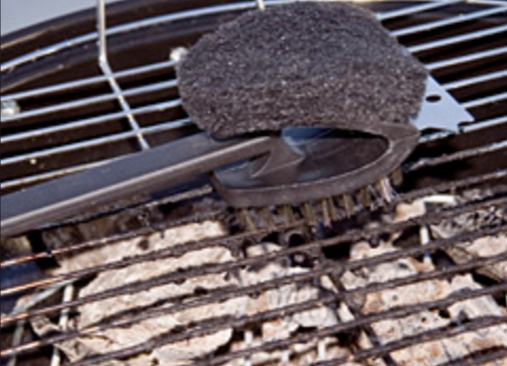 Grilling hazards from wire-bristled brushes. Image-Consumer Reports