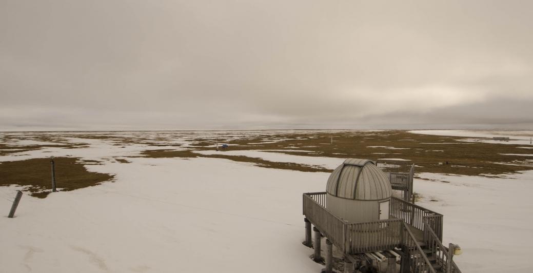 NOAA's Barrow Observatory. Image-NOAA