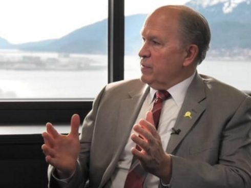 Alaska's Governor Walker. Image-State of Alaska