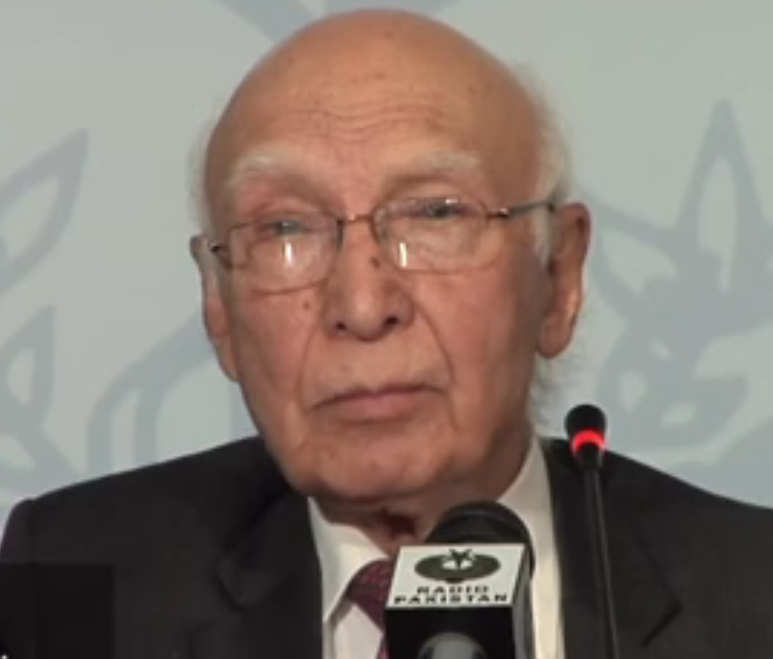 Pakistani Foreign Policy Advisor, Sartaj Aziz says drone attacks have violated our sovereignty and damaged trust, Image-VOA