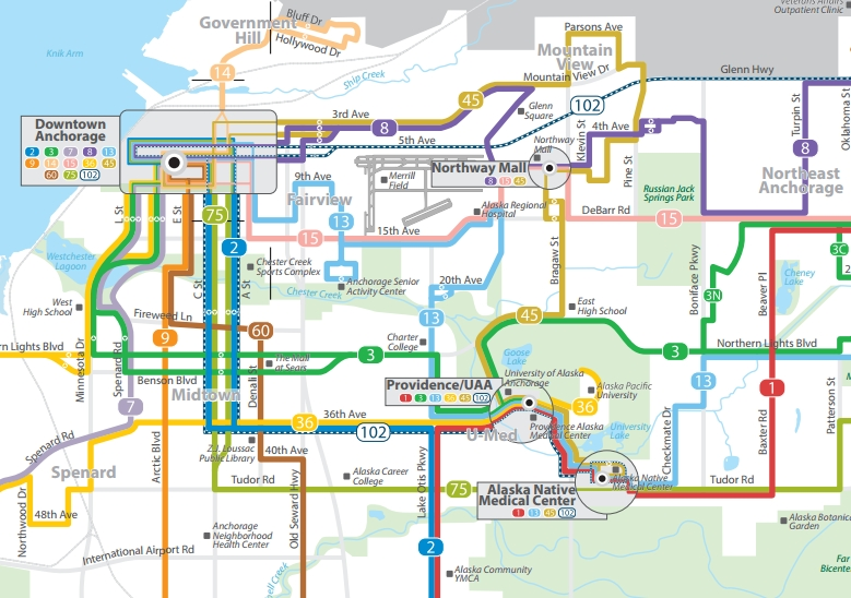 People Mover route map. Image-People Mover