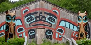 After receiving a $60,000 USDA_RD grant, the Tribal House in Saxman will receive a new roof. Image-NARF