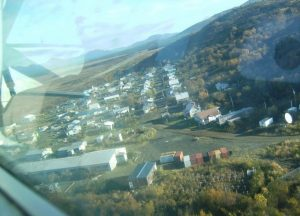View of Manokotak from the air. Image-City-Data
