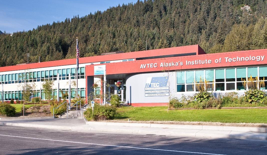 One of AVTEC's many educational buildings. Image-AVTEC website