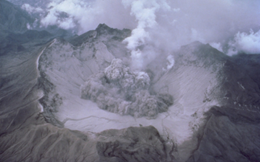 Mount Pinatubo's 1991 eruption and its effects masked sea level rise. Credit: USGS