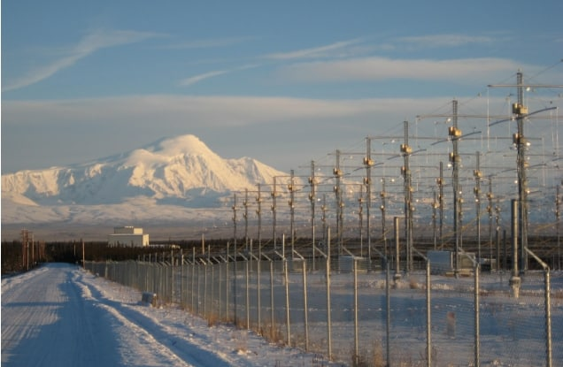 HAARP photo by Chris Fallen