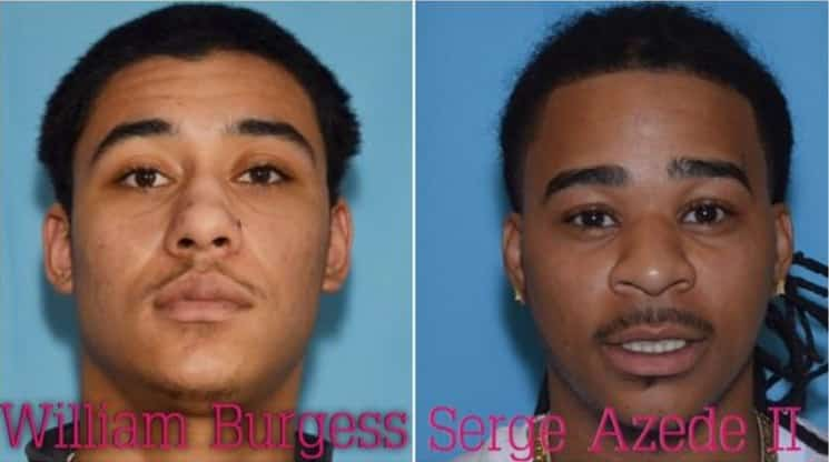 Anchorage Police are seeking the whereabouts of William Burgess and Serge Azede II. Images-Anchorage Police Department.