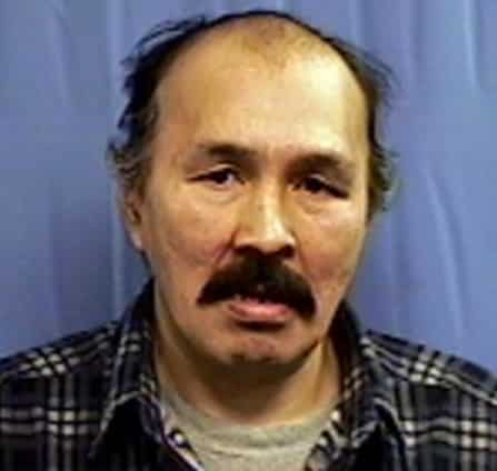 60-year-old John Thomas Simeon of Aniak was once again arrested on Criminal Trespass charges. Image- State of Alaska Sex Offenders Registry