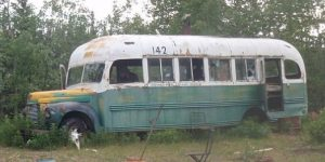"""The """"Magic Bus"""" as it appeared in 2009. Image-Cropped image of Erik Halfacre photo. (Creative Commons)"""