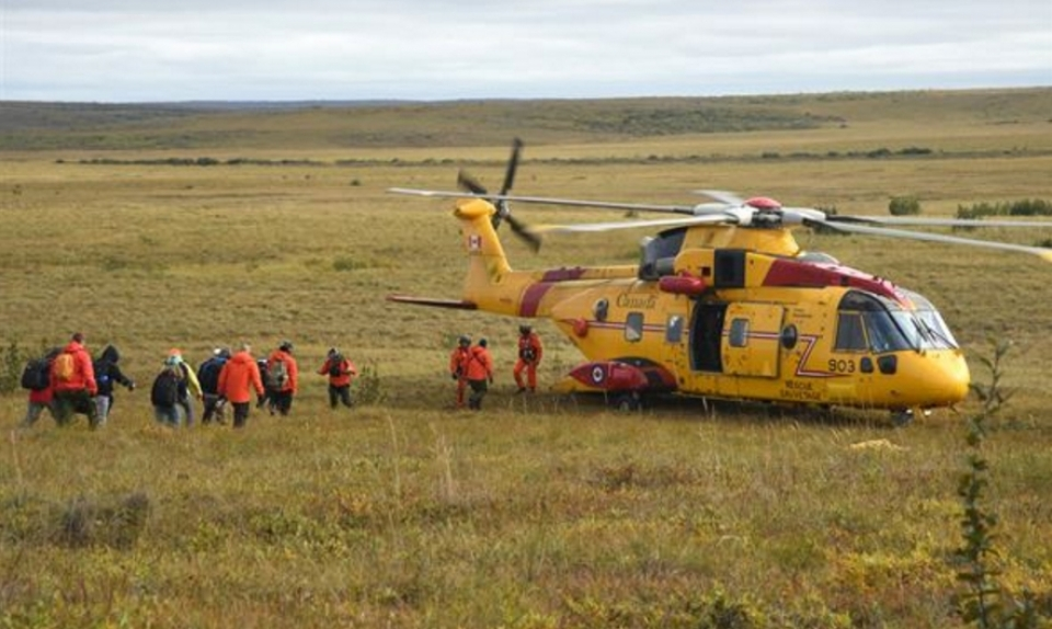 Preparing for the Worst through Practice Exercise Arctic Chinook 2016 Myin