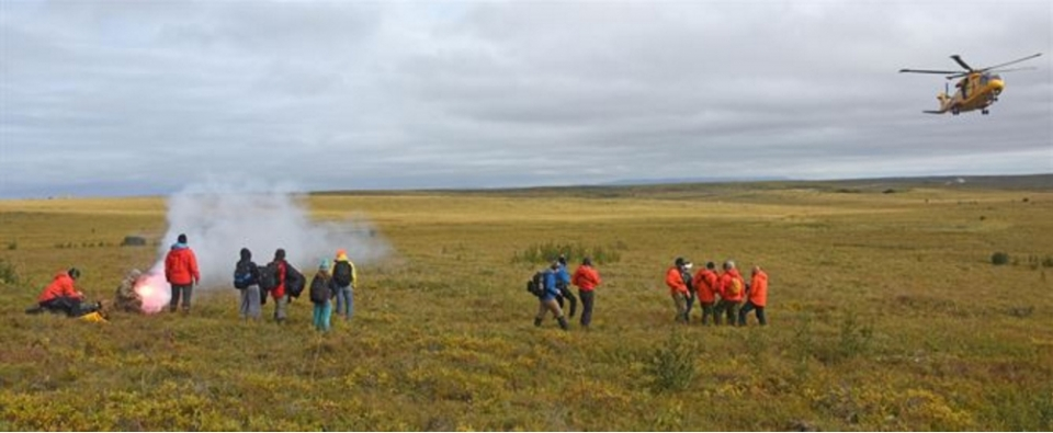 Preparing for the Worst through Practice Exercise Arctic Chinook 2016 Alas