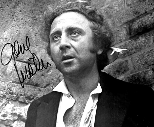 Studio publicity photo of Gene Wilder in film Quackster Fortune has a Cousin in the Bronx (1970). Image-Public Domain
