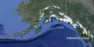 Location of Admiralty Island. Image-Google Maps