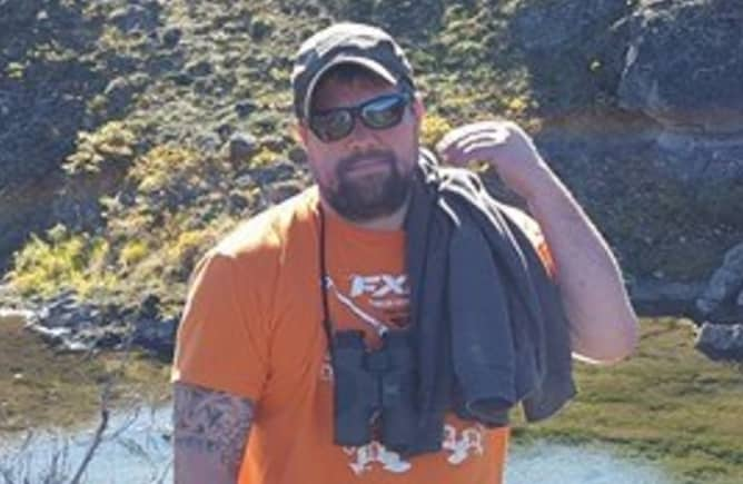 The search for missing hunter , Kevin Knoll, is continuing in the Eureka area. Image-Facebook profiles
