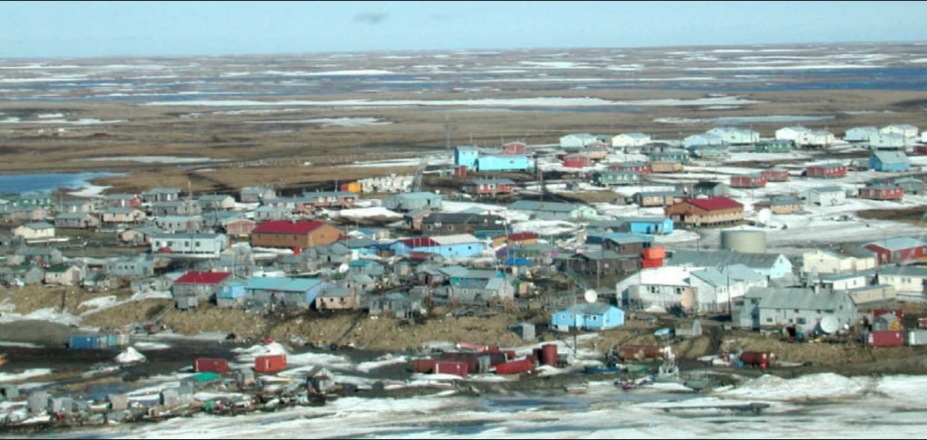 The community of Chevak. Image-Nakco