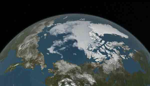 Minimum Sea Ice. Image-NASA