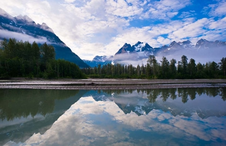 Taku River in Southeast Alaska. Image-David Nanuk/Creative Commons