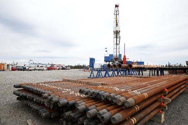 Tolsona No. 1 drilling pad. Photo courtesy of Ahtna Inc/Judy Patrick Photography