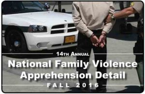Troopers Participate in Family-Violence Warrant Sweep