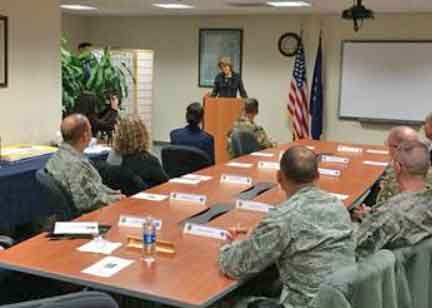 Murkowski announces Military Healing Arts is coming to JBER.-Image-Office of Senator Murkowski