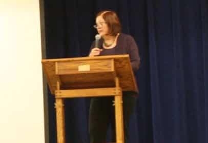 Senator Berta Gardner. Image-Senate Democrat Caucus