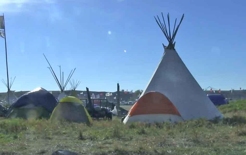 Encampment at Standing Rock.