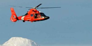 Coast Guard MH-65 Dolphin Rescue helicopter. Image-USCG