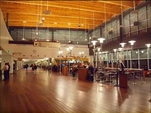 Interior of Fairbanks International Airport. Image-Juan Young/Creative Commons