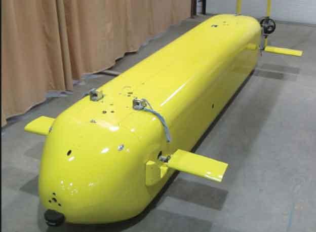 U.S. Navy Long-Endurance Underwater Drone. Image-U.S. Navy