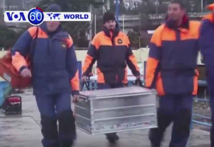 The black box from the Black Sea Russian military plane crash has been recovered. Image-VOA 360