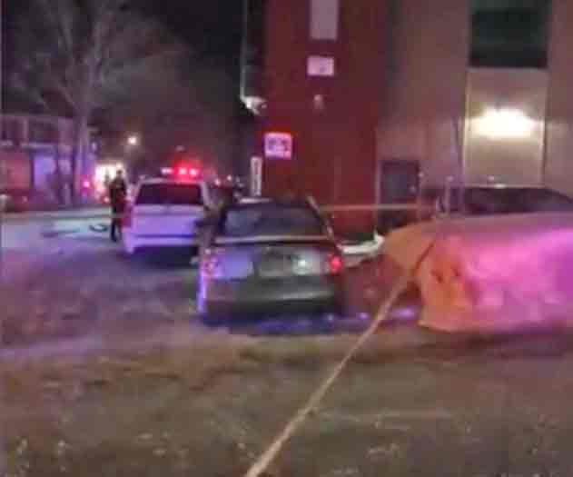 Two people have been detained following a shooting at a mosque in Quebec City on Sunday night. Image-screengrab