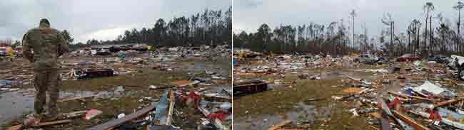Tornado carnage. Image-Reuters