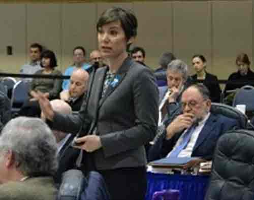 Representative Ivy Spohnholz (D-Anchorage). Image-Alaska House