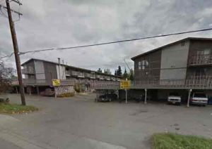 A large structure fire broke out at the Royal Suites Lodge on Minnesota Drive early Wednesday morning. Image-Google Maps