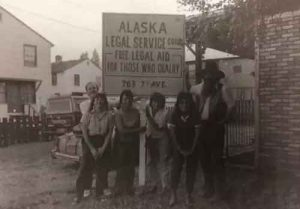 Alaska Legal Services Corporation's first attorneys. (Photo courtesy of ALSC.)