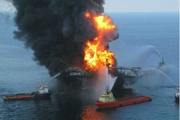 The first-ever comprehensive appraisal of the BP Deepwater Horizon oil spill's financial impact on natural resources found that it did $17.2 billion in damage. Photo courtesy U.S. Coast Guard.
