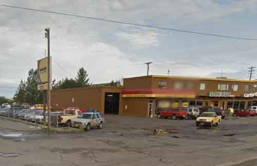Meineke in Anchorage. Image-Google Maps