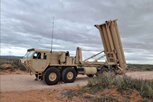 The Terminal High Altitude Area Defense (THAAD). Image-DoD