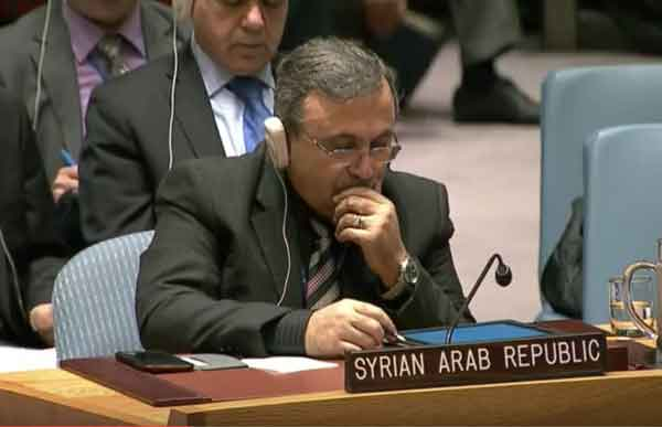 The UN Security Council convened today to discuss the strikes on Syria by the United States. Image-UN