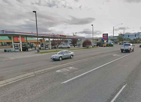 Anchorage police are seeking witnesses to a vehicle/bicycle collision that took place at this location near the intersection of Abbott Road and Brayton Drive on Monday afternoon. Image-Google Maps