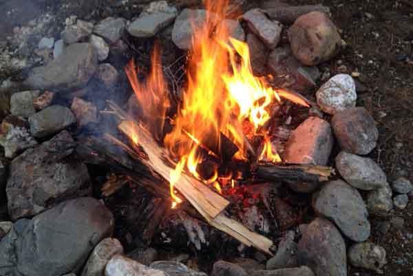 Campfire. Image-Alaska Wildland Fire Information