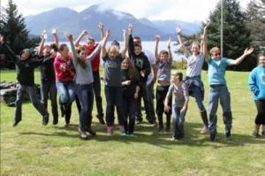 Participants in 2016 Explore the Rock program. Image-KANA