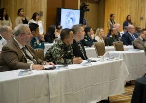 The Alaska National Guard hosted the Pacific Environmental Security Forum in Anchorage this month. Image-2nd Lt. Marisa Lindsay | Alaska National Guard Public Affairs