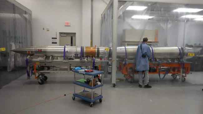 The RAISE payload, partially enclosed in a clean tent, is shown after completion of testing before going to the launch pad. Credits: Amir Caspi, Southwest Research Institute